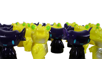 Citrus Pocket Mummy Gator and Grape Fenton by Super7