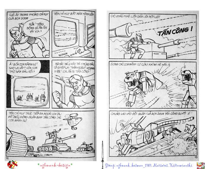 Dũng Sĩ Hesman tập 2 - hesman xuất hiện trang 7