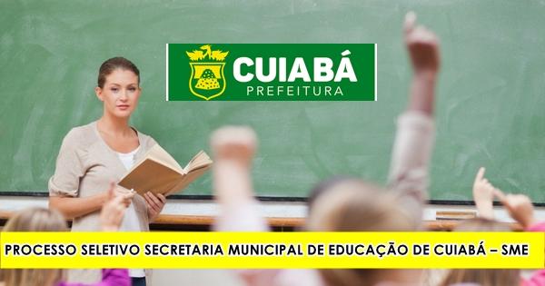 PROCESSO SELETIVO SME DE CUIABÁ – MT