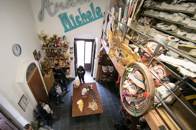 Laboratorio di cartapesta di Matteo Trotta-Manfredonia