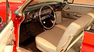 1961 Chevrolet Impala SS Interior