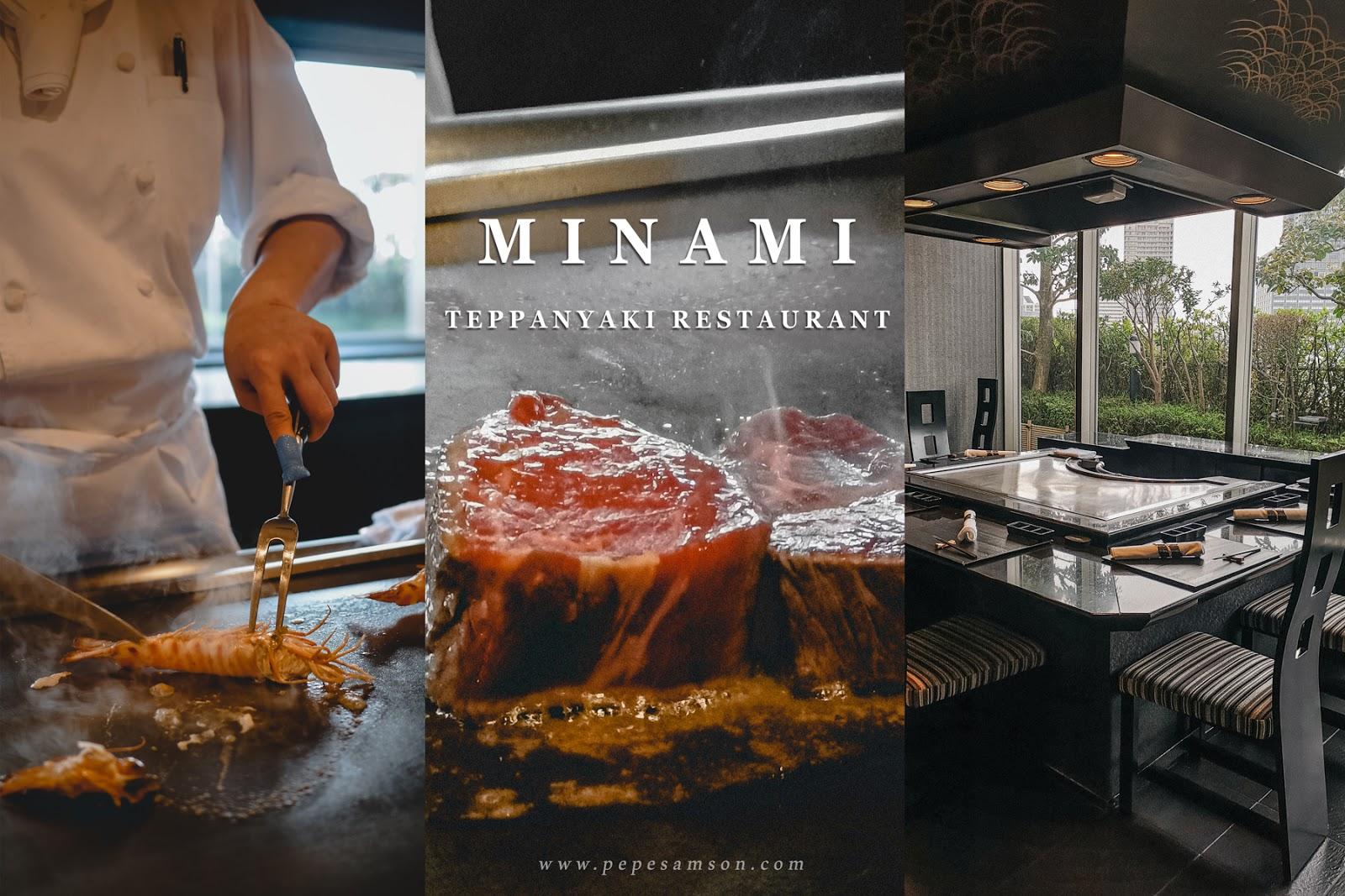Treat Yourself to an Indulgent Teppanyaki Meal at Minami, Swissôtel Nankai Osaka