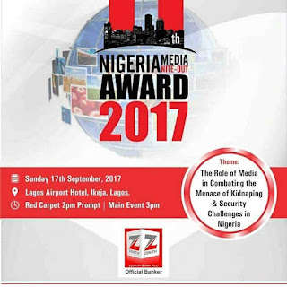 Nigeria Media Nite Out Award roll out categories for entries