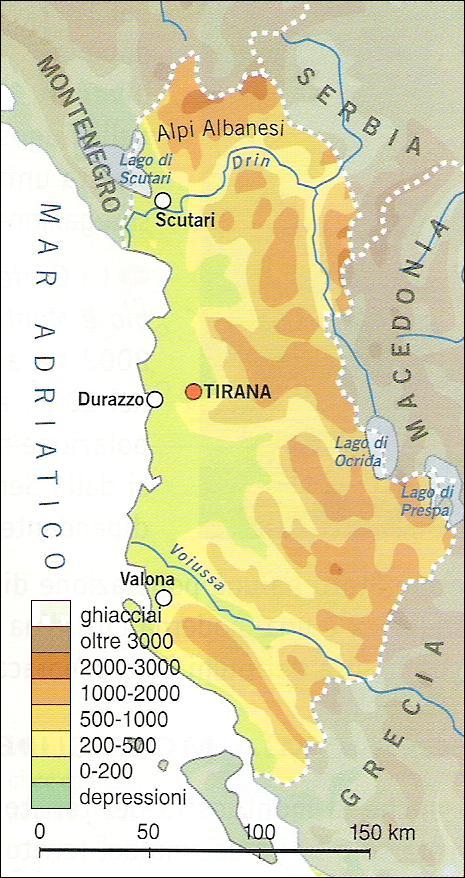 Cartina Albania Fisica.Chi Viaggia Impara Immagini Dal Mondo Albania