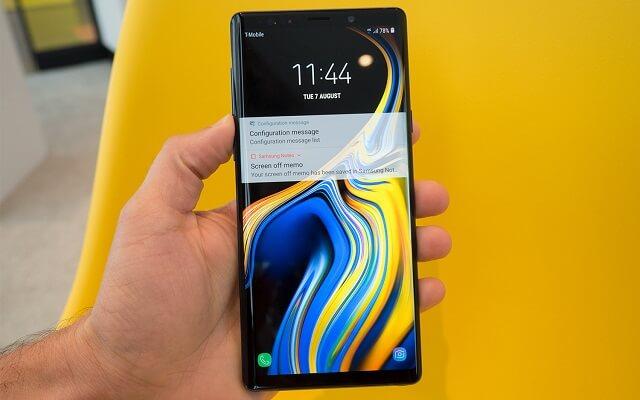 تحديث جديد لهاتف Samsung Galaxy Note 9 يعمل على تحسين الكاميرا والأداء