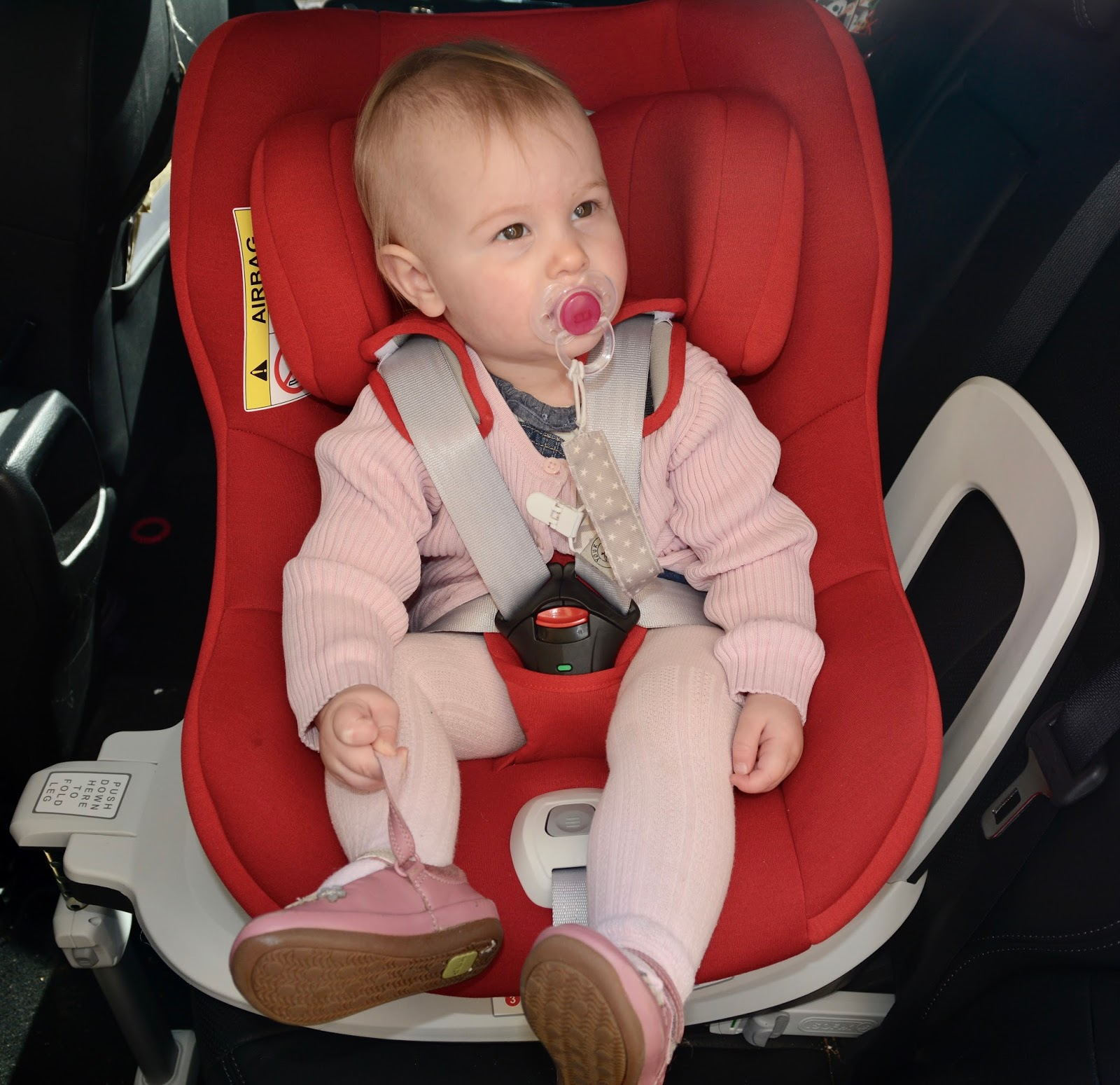 Cozy 'n' Safe Merlin carseat review