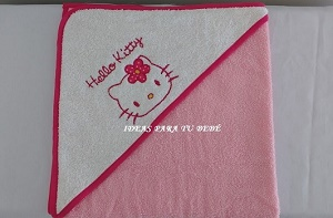 capa de baño Hello Kitty