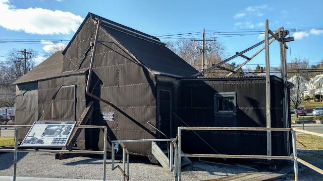 Чорна Марія. Перша в світі кіностудія. Національний історичний парк Томаса Едісона, Вест-Орандж, Нью-Джерсі (Thomas Edison National Historical Park, West Orange, NJ)