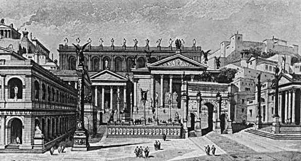 Foro en la antigua Roma