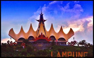 Objek Wisata Menara Siger Lampung