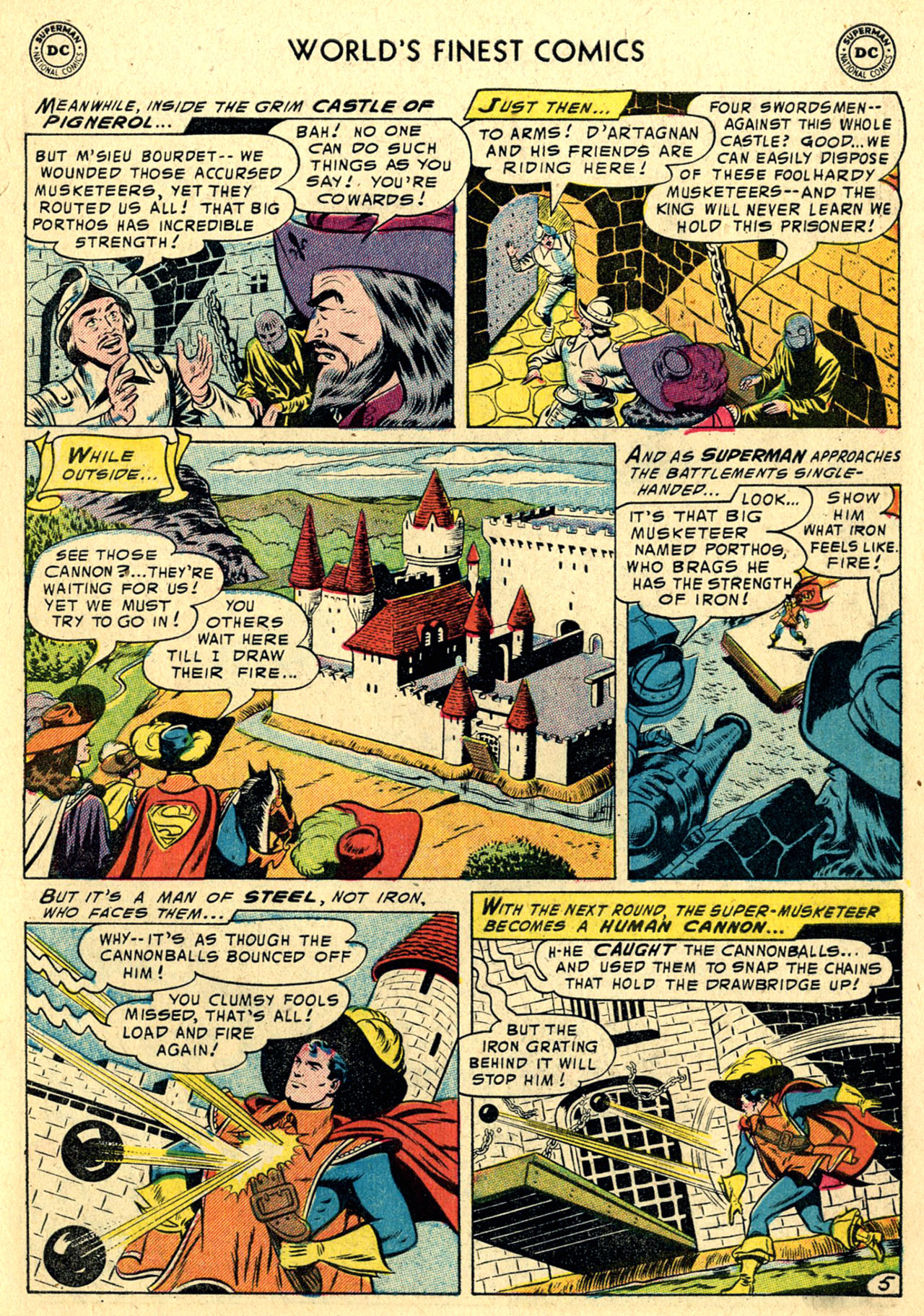 Read online World's Finest Comics comic -  Issue #82 - 7