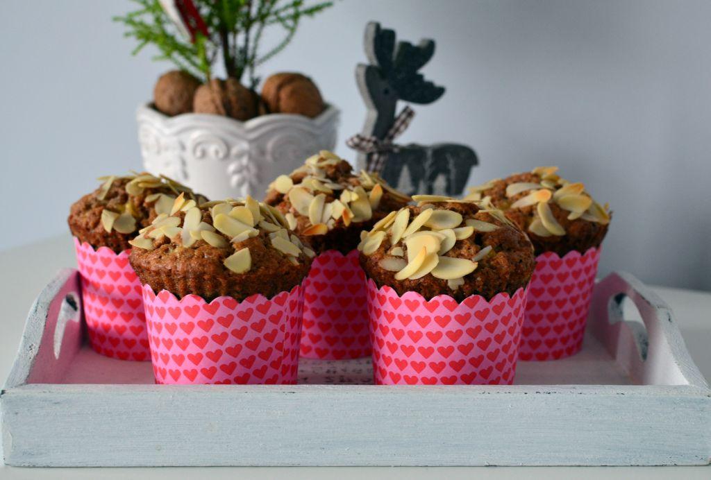 muffiny-z-bananmi Muffiny z bananami bez cukru