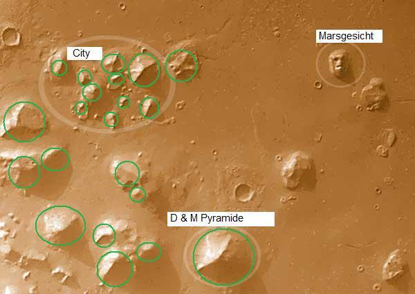 Mars Pyramiden