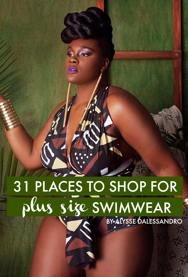 478617c724 31 PLACES TO SHOP FOR PLUS SIZE SWIMWEAR    BY ALYSSE DALESSANDRO - The  Militant Baker
