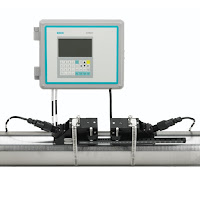 Ultrasonic Clamp-On Flowmeter