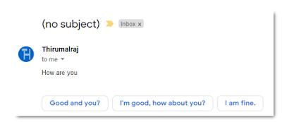 Cara Nonaktifkan Smart Reply di Gmail untuk Android