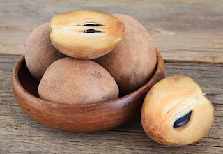 Health Benefits of Raw Sapodilla Fruit - 1