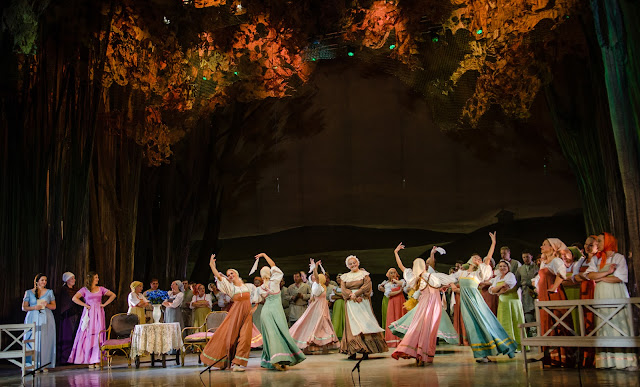 Tchaikovsky Eugene Onegin - Belarus Opera at Birgitta Festival - photo Heiti Kruusmaa