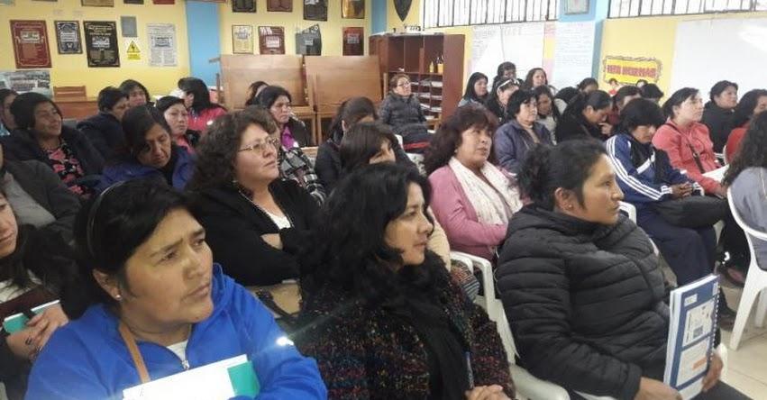 Se inició Taller para docentes de inicial sobre el Currículo Nacional en la UGEL Santiago de Chuco