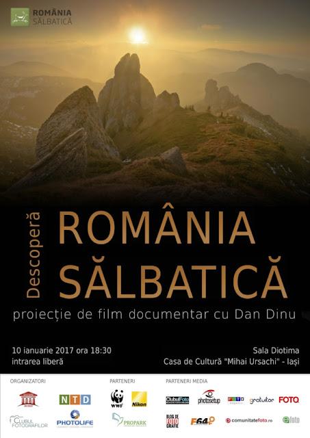 Afis - proiect România sãlbaticã la Iasi - blog FOTO-IDEEA