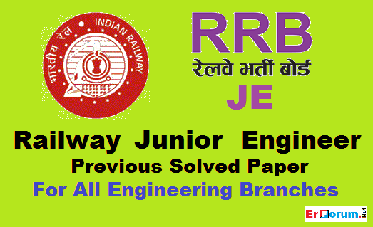 Railway Exam Previous Year Question Paper Pdf