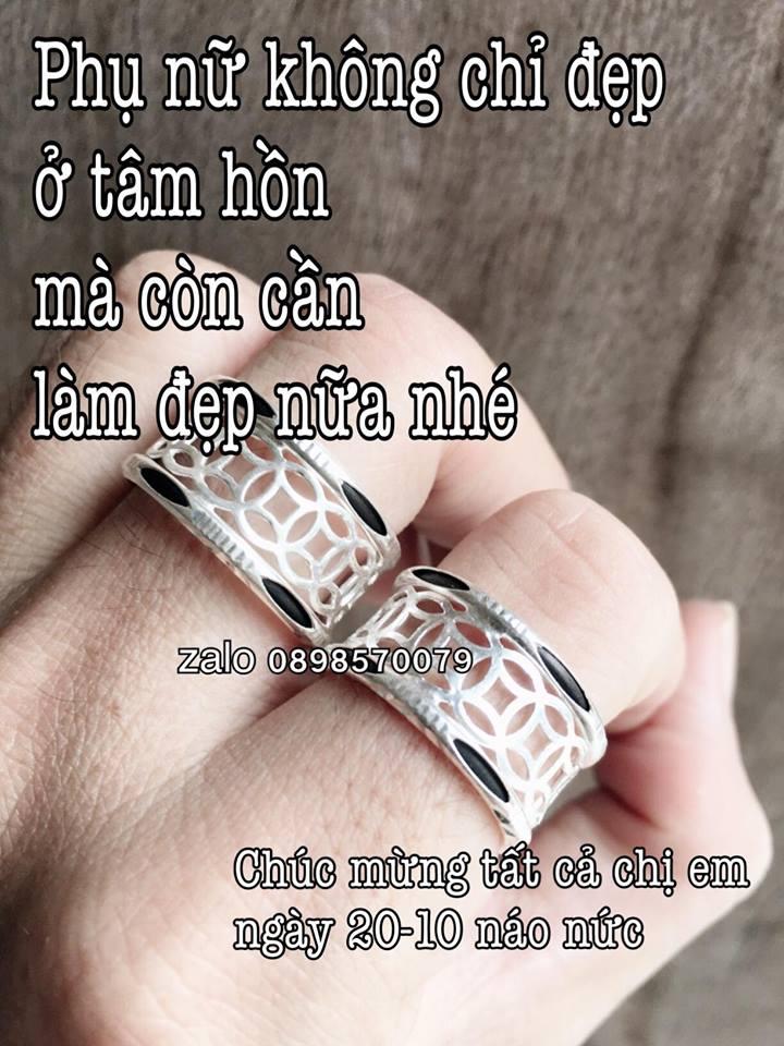 Mẫu nhẫn lông voi kim tiền cho nam và nữ cùng đeo