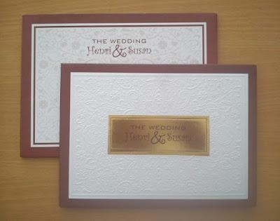 undangan pernikahan desain unik dan cantik