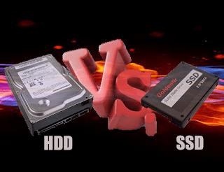 hdd vs ssd bagus mana