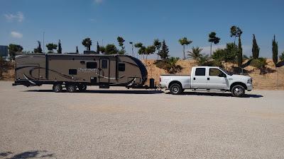 5th wheel, caravan and boat deliveries. UK - Spain - Europe