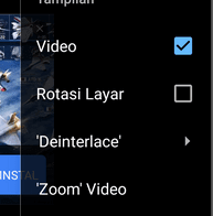 Cara perbaiki video terbalik ANdroid
