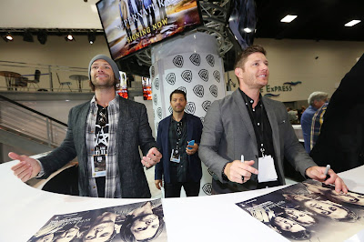 COMICCON, 2016, JENSEN, JARED, MISHA, SAM, DEAN, CROWLEY, CASTIEL, SUPERNATURAL, SOBRENATURAL, SEASON 12, IMAGENES, DESCARGAS, VIDEOS