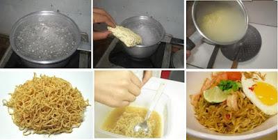cara memasak mie instan