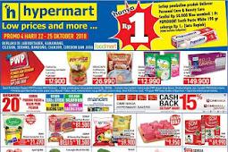 Katalog Promo Hypermart Weekday 22 - 25 Oktober 2018