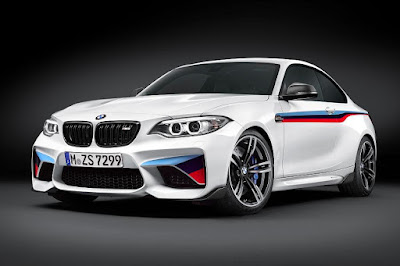 BMW M2 Coupé With M Performance Parts (2016) Front Side
