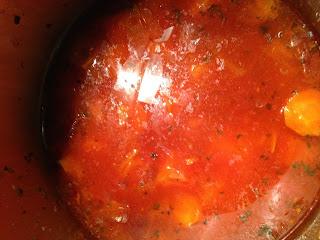 Crema de Zanahoria, preparación 1