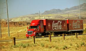 Ryder/Coke Truck Near Arizona Border