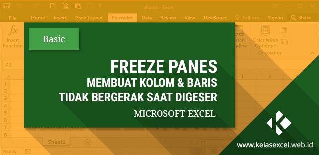 Cara Menggunakan Fitur Freeze Panes Di Excel