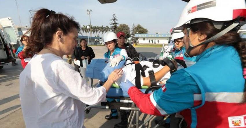 Escolares heridos en accidente en Amazonas, serán evaluados en Hospital del Niño de San Borja, informó la Ministra de Salud Silvia Pessah