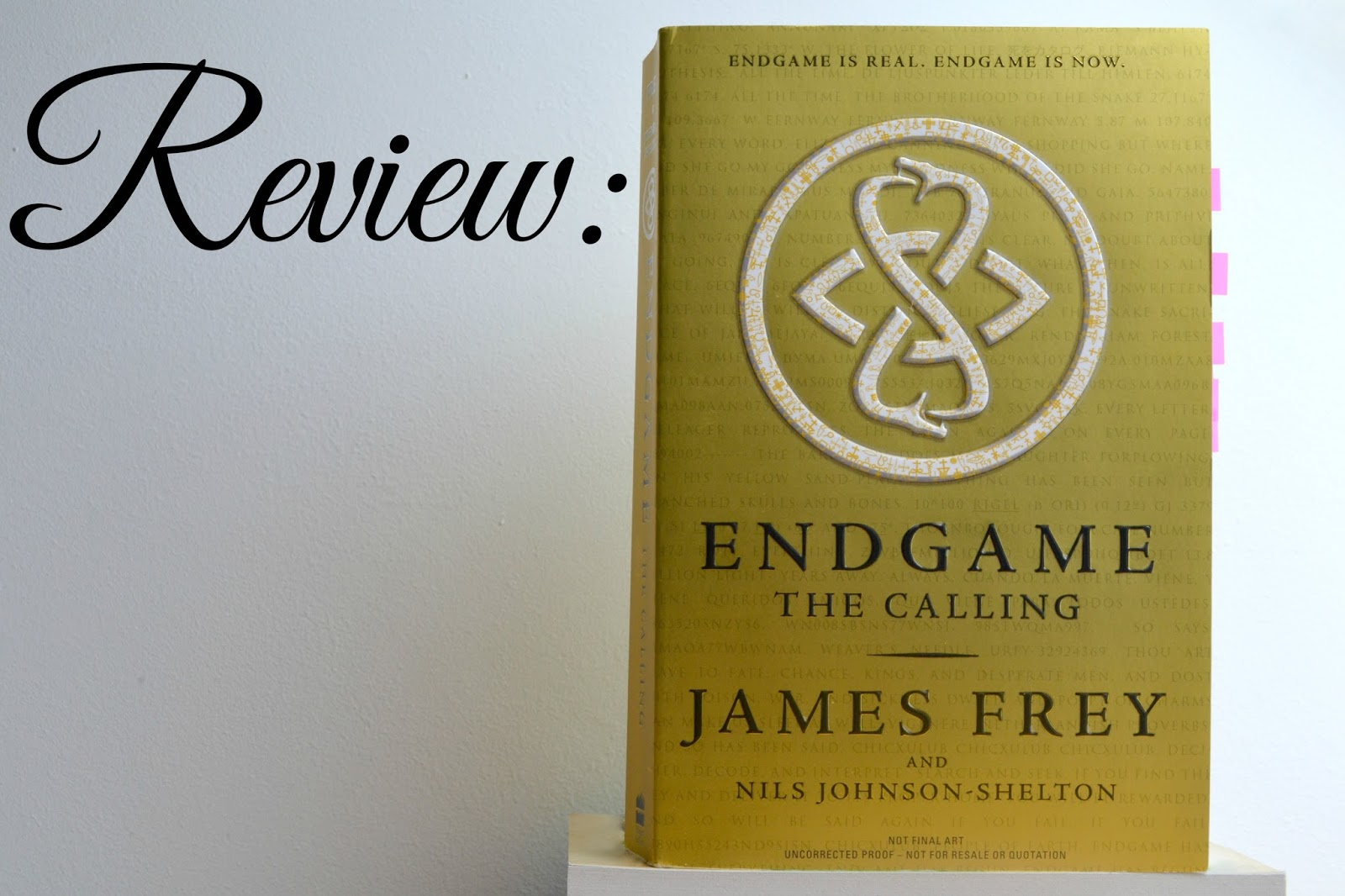 Endgame: The Calling by James Frey and Nils Johnson-Shelton