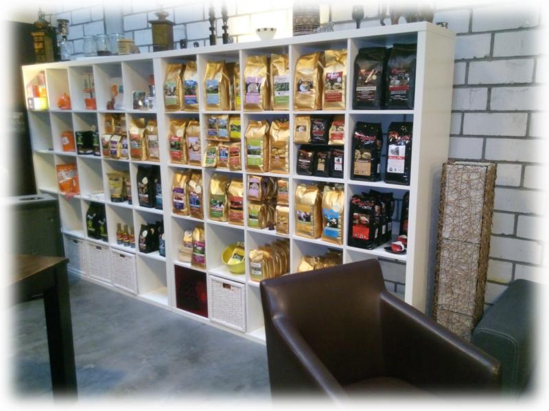 Kaffeerösterei Rigano Verkaufsraum