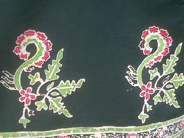 Batik gajah oling khas Banyuwangi