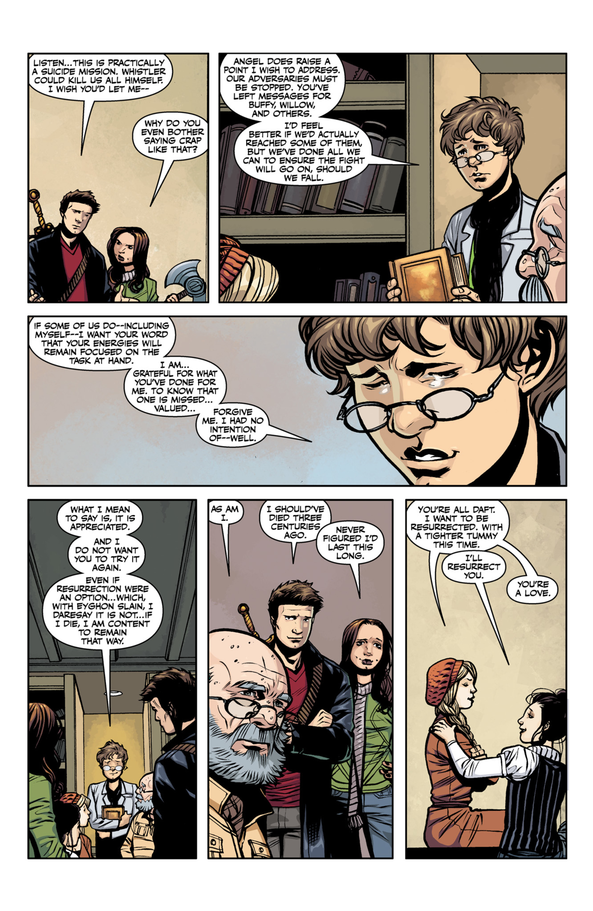 Read online Angel and Faith comic -  Issue #22 - 21