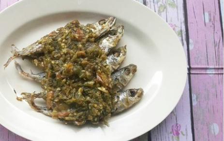 Resep Praktis Ikan Pindang Sambal Cabai Ijo Rumahan