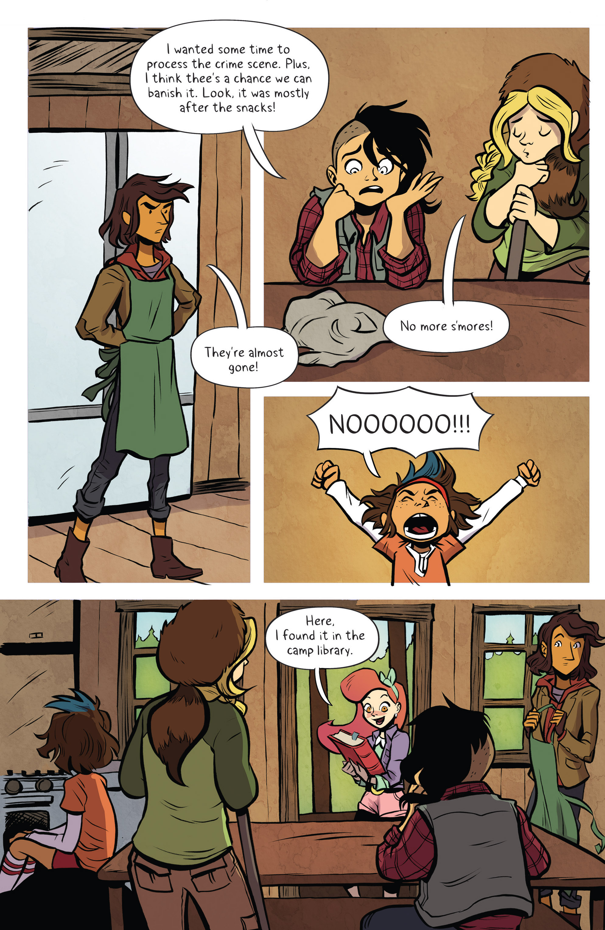 Read online Lumberjanes: Makin' the Ghost of It 2016 Special comic -  Issue # Full - 21