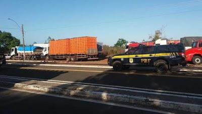 PRF autua 15 caminhoneiros por descumprir lei do descanso no Piauí