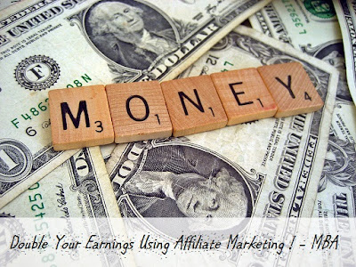 double earnings through affiliate marketing