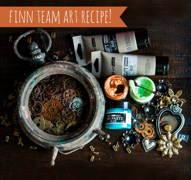 April Art Recipe – Prima Marketing