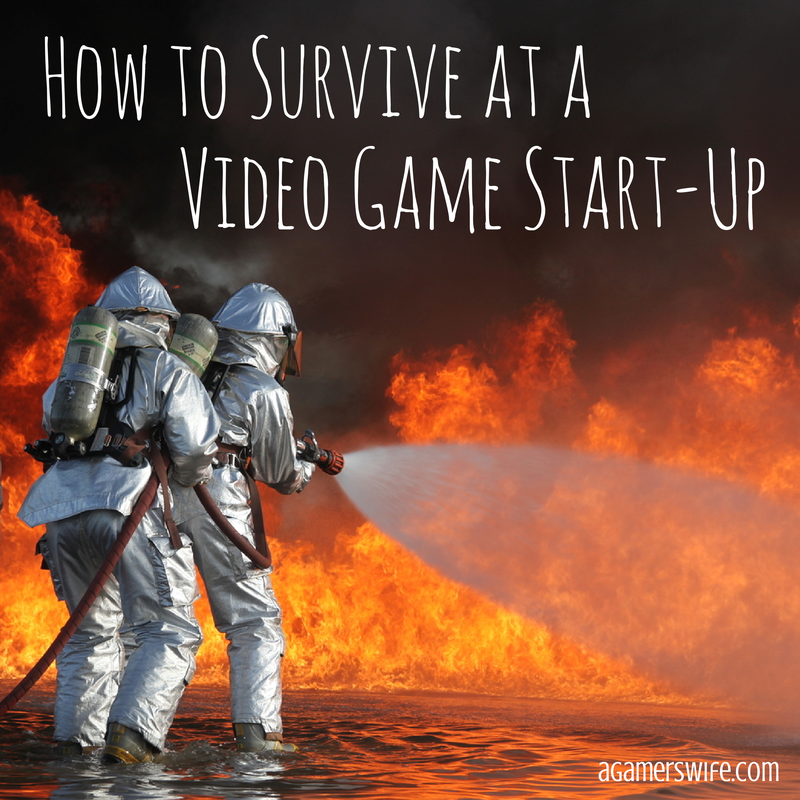 How to survive at a video game start-up company
