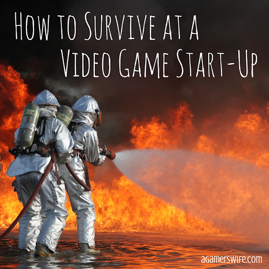A Gamer's Wife: How to Survive at a Video Game Start-Up