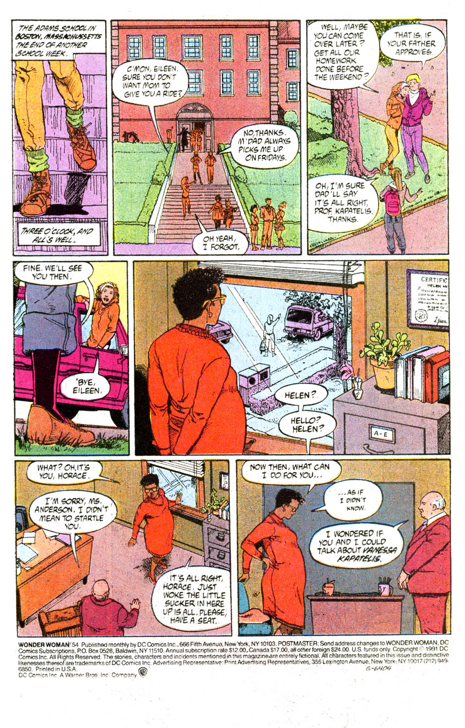 Read online Wonder Woman (1987) comic -  Issue #54 - 2
